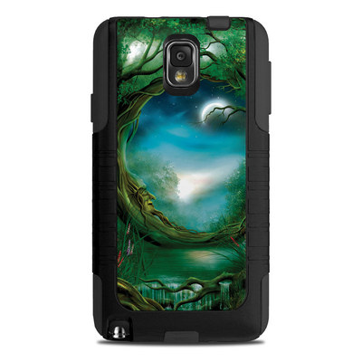 OtterBox Commuter Note 3 Case Skin - Moon Tree