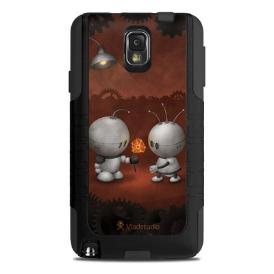 OtterBox Commuter Note 3 Case Skin - Robots In Love