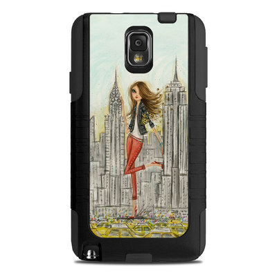 OtterBox Commuter Note 3 Case Skin - The Sights New York