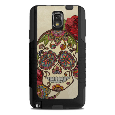 OtterBox Commuter Note 3 Case Skin - Sugar Skull