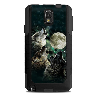 OtterBox Commuter Note 3 Case Skin - Three Wolf Moon