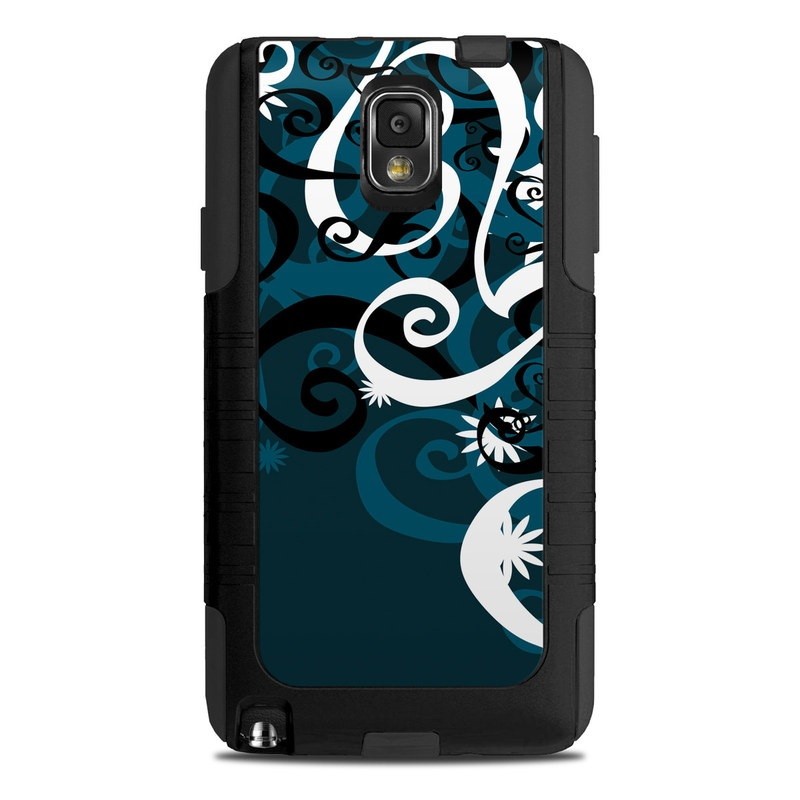 uk availability f2464 cc4df OtterBox Commuter Note 3 Case Skin - Midnight Garden by DecalGirl Collective
