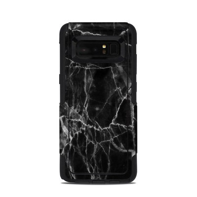 OtterBox Commuter Galaxy Note 8 Case Skin - Black Marble