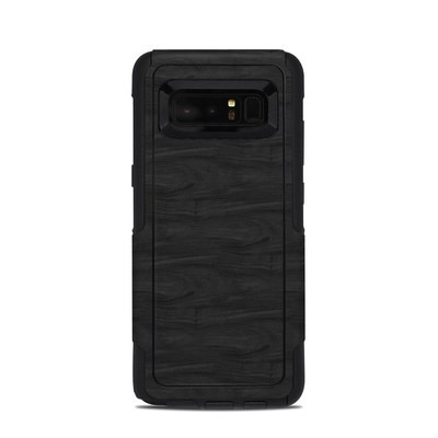 OtterBox Commuter Galaxy Note 8 Case Skin - Black Woodgrain