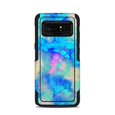 OtterBox Commuter Galaxy Note 8 Case Skin - Electrify Ice Blue