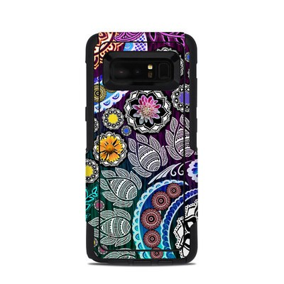 OtterBox Commuter Galaxy Note 8 Case Skin - Mehndi Garden