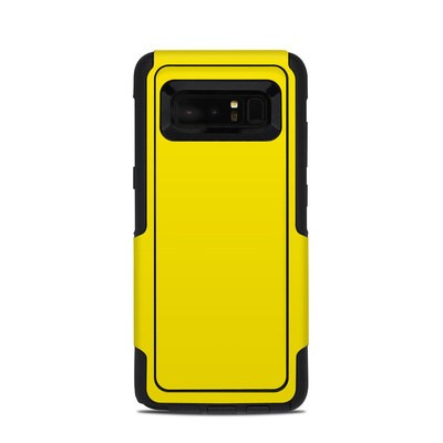 OtterBox Commuter Galaxy Note 8 Case Skin - Solid State Yellow
