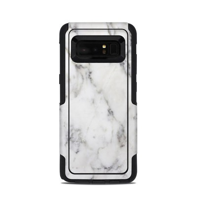 OtterBox Commuter Galaxy Note 8 Case Skin - White Marble