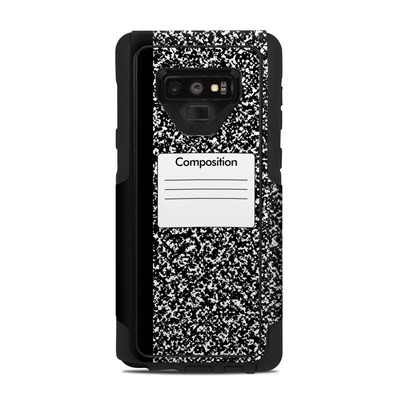 OtterBox Commuter Galaxy Note 9 Case Skin - Composition Notebook