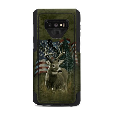 OtterBox Commuter Galaxy Note 9 Case Skin - Deer Flag