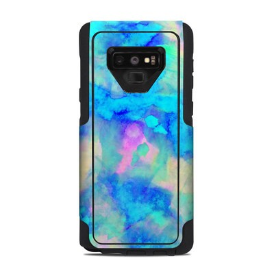 OtterBox Commuter Galaxy Note 9 Case Skin - Electrify Ice Blue