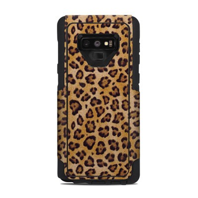 OtterBox Commuter Galaxy Note 9 Case Skin - Leopard Spots