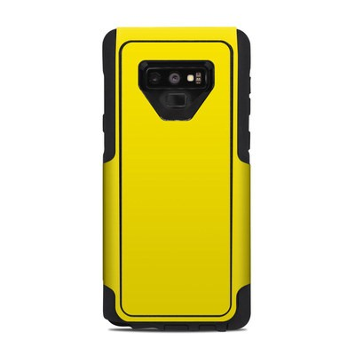 OtterBox Commuter Galaxy Note 9 Case Skin - Solid State Yellow