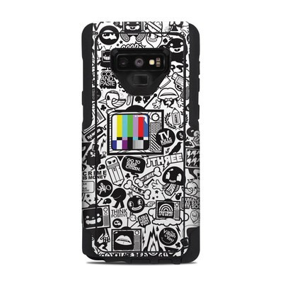 OtterBox Commuter Galaxy Note 9 Case Skin - TV Kills Everything