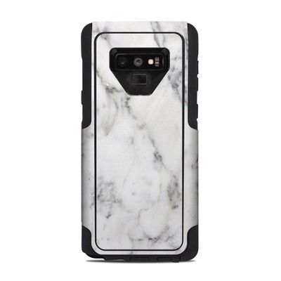 OtterBox Commuter Galaxy Note 9 Case Skin - White Marble
