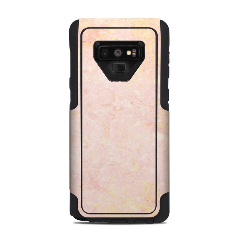 low priced c6f2e 1e3a6 OtterBox Commuter Galaxy Note 9 Case Skin - Rose Gold Marble