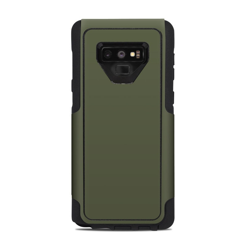official photos c8cea aaf5b OtterBox Commuter Galaxy Note 9 Case Skin - Solid State Olive Drab
