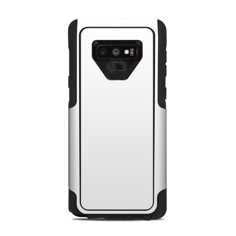 differently a4f6b ad8e6 OtterBox Commuter Galaxy Note 9 Case Skin - Solid State White