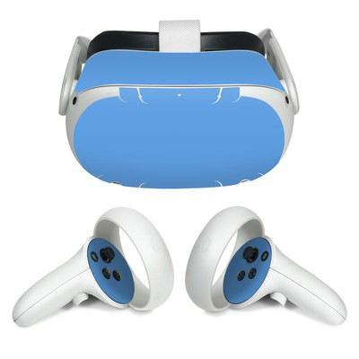 Oculus Quest 2 Skin - Solid State Blue