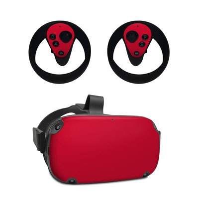 Oculus Quest Skin - Solid State Red