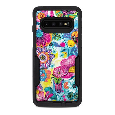 OtterBox Commuter Galaxy S10 Case Skin - Natural Garden