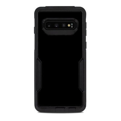 OtterBox Commuter Galaxy S10 Case Skin - Solid State Black