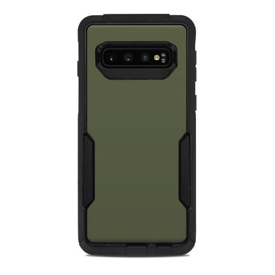 OtterBox Commuter Galaxy S10 Case Skin - Solid State Olive Drab