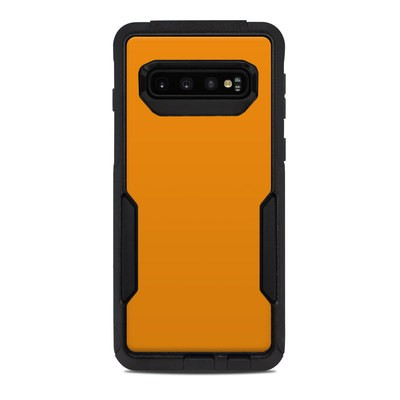 OtterBox Commuter Galaxy S10 Case Skin - Solid State Orange