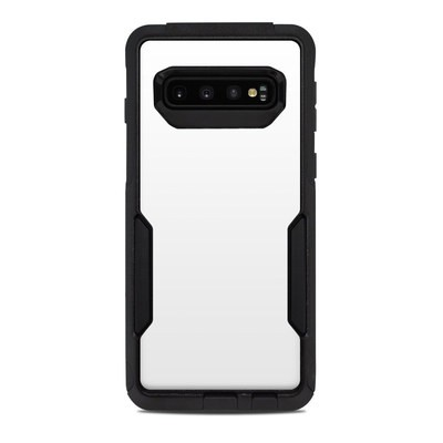 OtterBox Commuter Galaxy S10 Case Skin - Solid State White