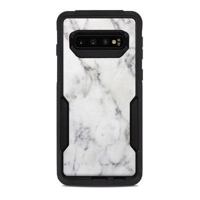 OtterBox Commuter Galaxy S10 Case Skin - White Marble