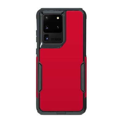 OtterBox Commuter Galaxy S20 Ultra Case Skin - Solid State Red