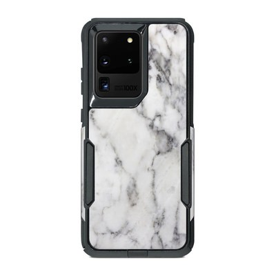 OtterBox Commuter Galaxy S20 Ultra Case Skin - White Marble