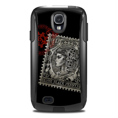 OtterBox Commuter Galaxy S4 Case Skin - Black Penny