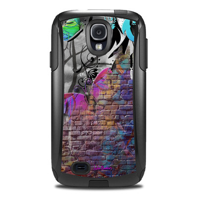 Otterbox Commuter Galaxy S4 Case Skin - Butterfly Wall