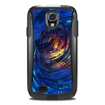 Otterbox Commuter Galaxy S4 Case Skin - Clockwork