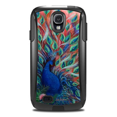 Otterbox Commuter Galaxy S4 Case Skin - Coral Peacock