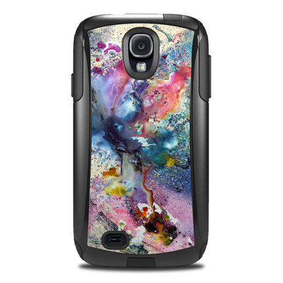 Otterbox Commuter Galaxy S4 Case Skin - Cosmic Flower