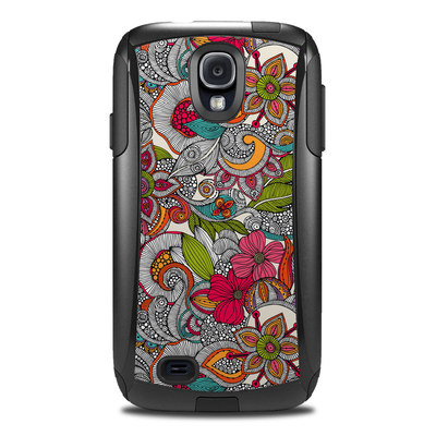 OtterBox Commuter Galaxy S4 Case Skin - Doodles Color