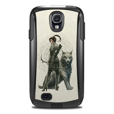 OtterBox Commuter Galaxy S4 Case Skin - Half Elf Girl