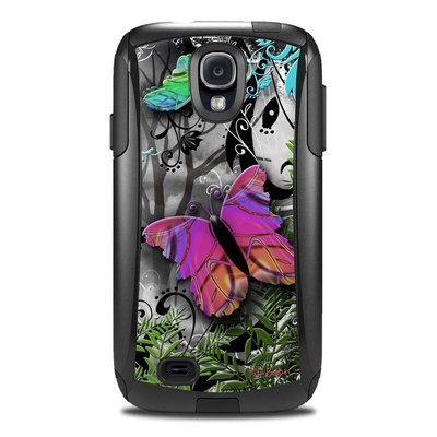 Otterbox Commuter Galaxy S4 Case Skin - Goth Forest