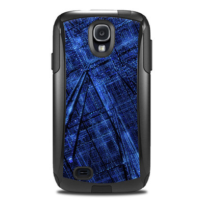 Otterbox Commuter Galaxy S4 Case Skin - Grid