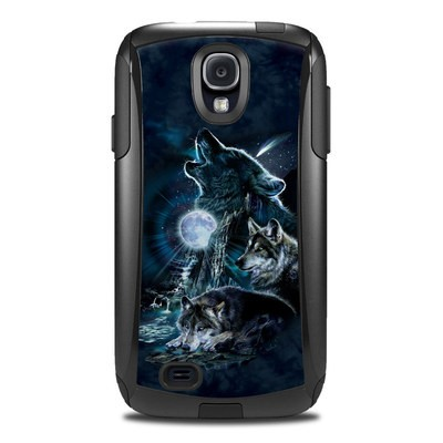 OtterBox Commuter Galaxy S4 Case Skin - Howling