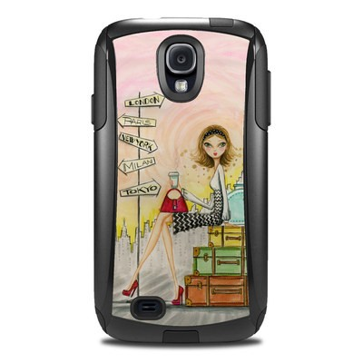 Otterbox Commuter Galaxy S4 Case Skin - The Jet Setter