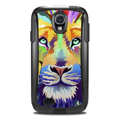 OtterBox Commuter Galaxy S4 Case Skin - King of Technicolor