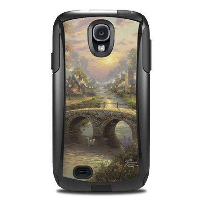 Otterbox Commuter Galaxy S4 Case Skin - Sunset On Lamplight Lane