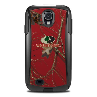 Otterbox Commuter Galaxy S4 Case Skin - Break-Up Lifestyles Red Oak