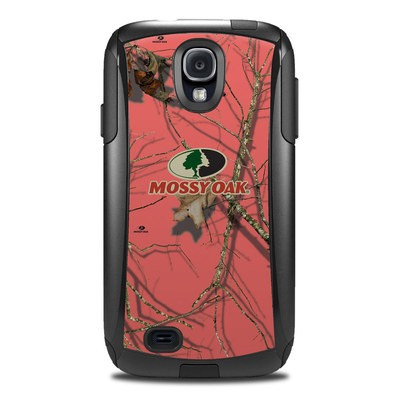 Otterbox Commuter Galaxy S4 Case Skin - Break-Up Lifestyles Salmon