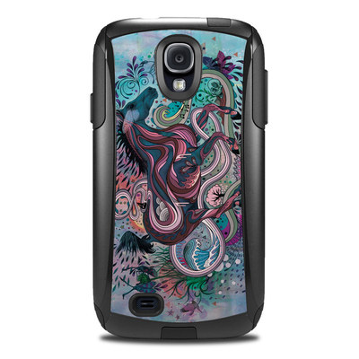 Otterbox Commuter Galaxy S4 Case Skin - Poetry in Motion