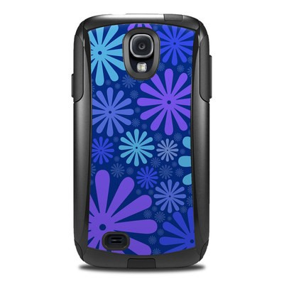 Otterbox Commuter Galaxy S4 Case Skin - Indigo Punch