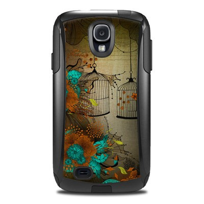 Otterbox Commuter Galaxy S4 Case Skin - Rusty Lace